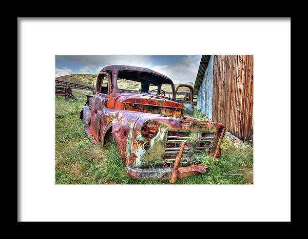 Antique Framed Print featuring the photograph Carrelic by Scott Hadley