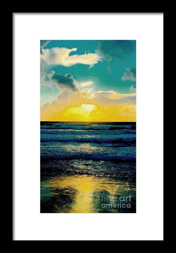 Framed Print featuring the photograph Carry On My Wayword Son by Michael C