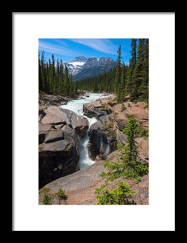Rocky Mountain Framed Print featuring the photograph Carving Nature by Csaba Diglics