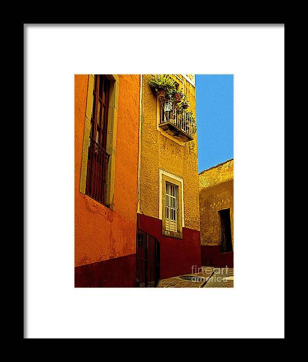 Darian Day Framed Print featuring the photograph Casa De Abuela by Mexicolors Art Photography