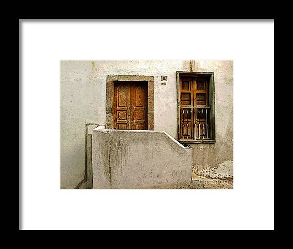 Darian Day Framed Print featuring the photograph Casa De Crema 2 by Mexicolors Art Photography
