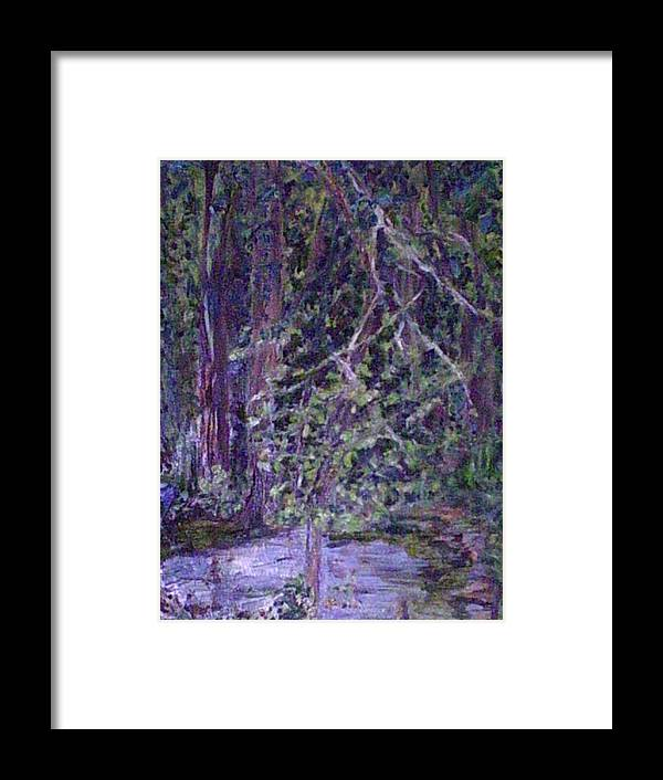 Landscape Framed Print featuring the painting Casa Mesa by Impressionist FineArtist Tucker Demps Collection