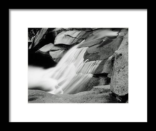 Landscape Framed Print featuring the photograph Cascade 2 by Allan McConnell