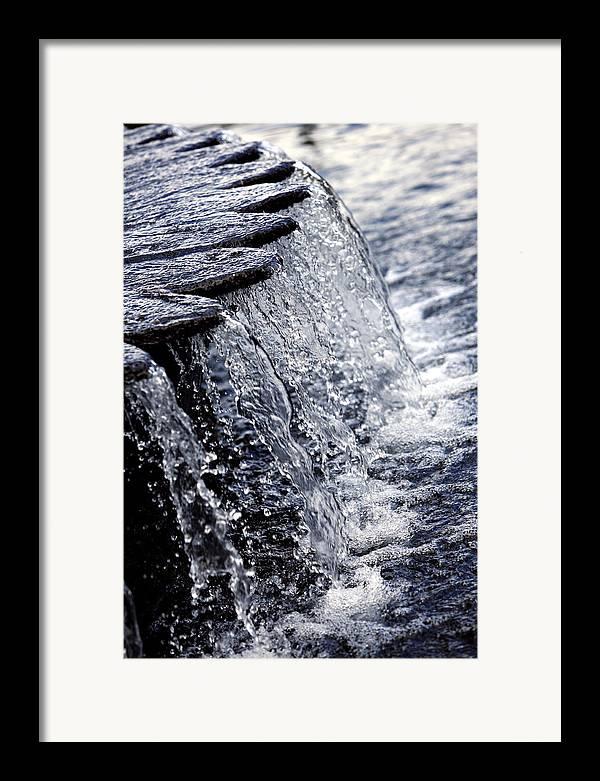 Photo Framed Print featuring the photograph Cascade by Carmo Correia