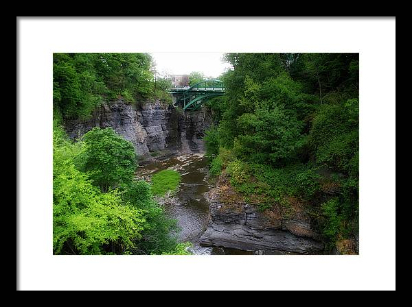 Cascadilla Gorge Cornell University Ithaca New York 02 by Thomas Woolworth