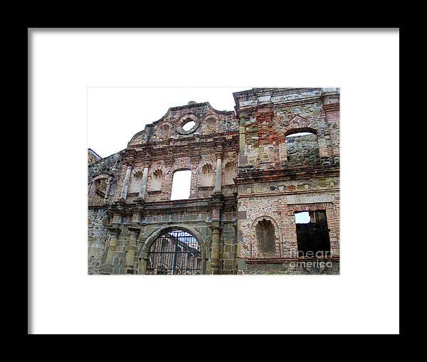 Casco Viejo Framed Print featuring the photograph Casco Viejo Panama 20 by Randall Weidner