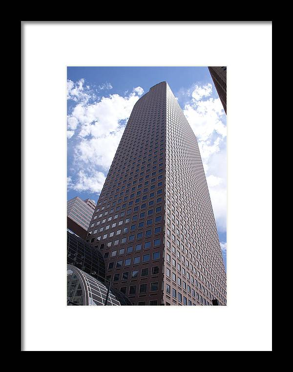Architecture Framed Print featuring the photograph Cash Register by Brian Anderson