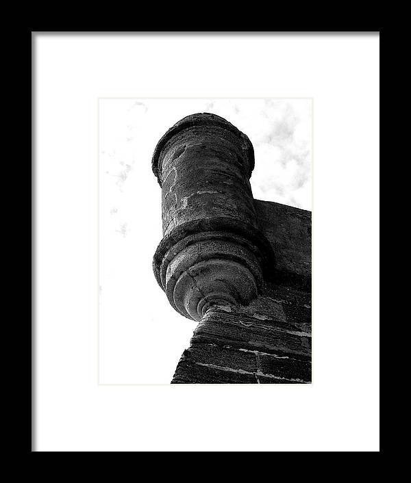 Fort. Fortress Framed Print featuring the photograph Castillo De San Marcos by Dario Boriani