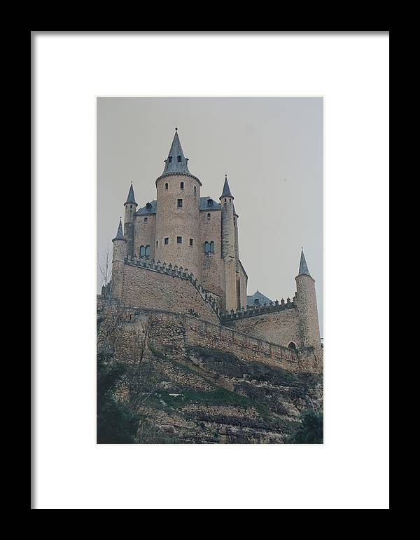Castle Framed Print featuring the photograph Castle At Segovia by David Connaughton