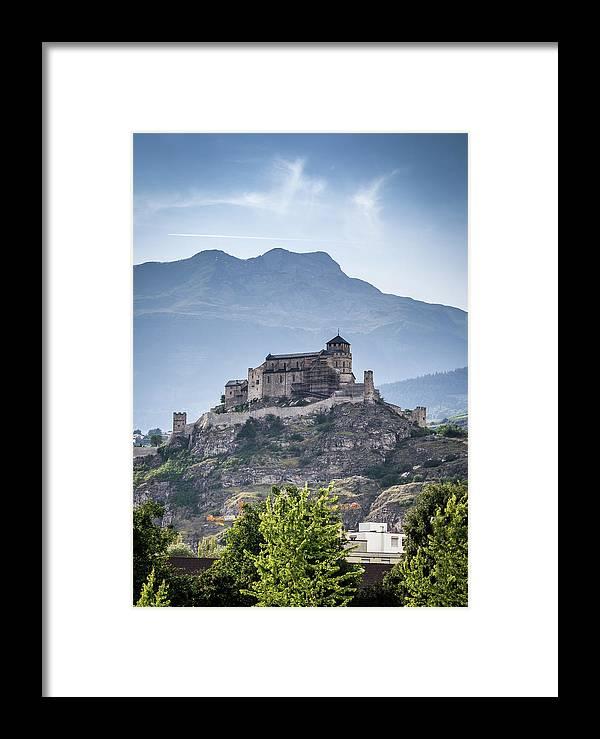 Castle Framed Print featuring the photograph Castle Tourbillon by Fabio Gomes Freitas