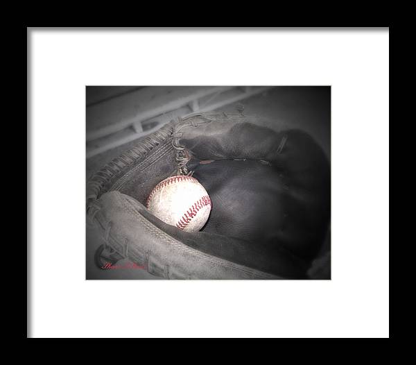 Sports Framed Print featuring the photograph Catch Me by Shana Rowe Jackson