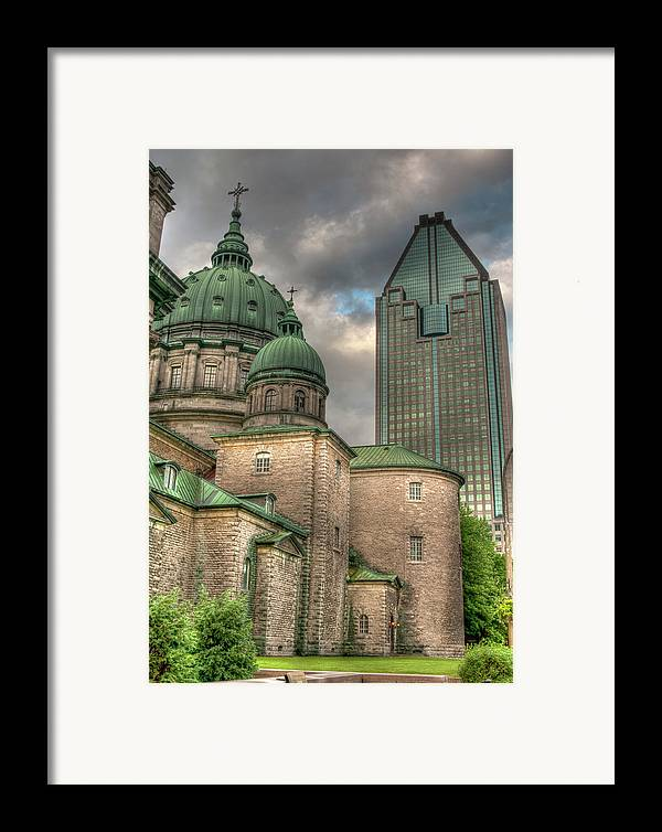 Marie-reine-de Monde Framed Print featuring the photograph Cathedral by Elisabeth Van Eyken