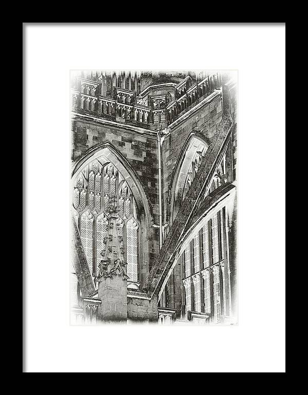 Church Framed Print featuring the photograph Cathedral by Tony Grider