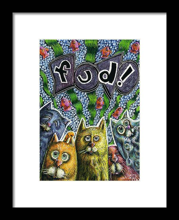 Cats Know It By Name Framed Print