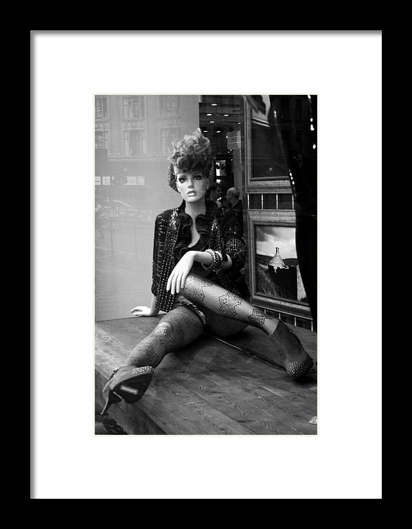 Jez C Self Framed Print featuring the photograph Catwalk Calamities by Jez C Self