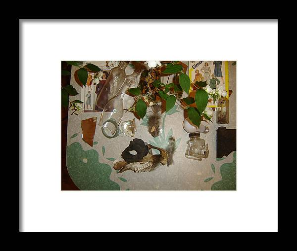 Still Life Framed Print featuring the photograph Caught In An Eddy by Dean Corbin