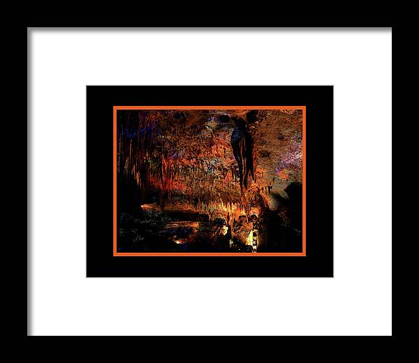 Marengo Framed Print featuring the photograph Cave Colors by Bob Welch