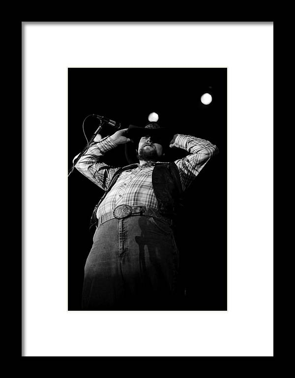 Southern Rock Framed Print featuring the photograph Cdb Winterland 12-13-75 #48 by Ben Upham