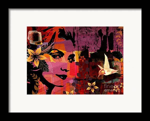 Illustration Framed Print featuring the digital art Celebrating Life by Ramneek Narang