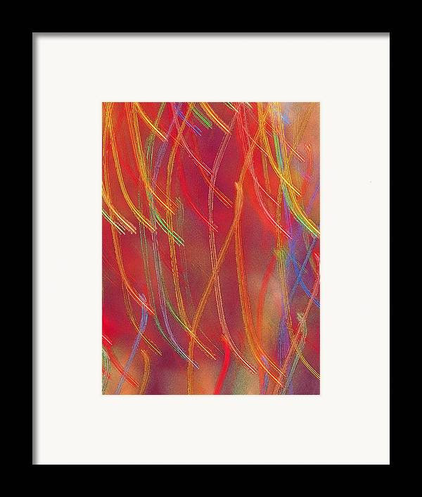 Abstract Framed Print featuring the photograph Celebration by Gaby Swanson