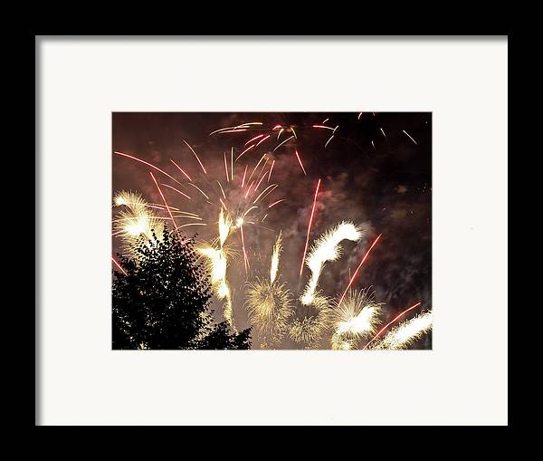 4th Framed Print featuring the photograph Celebration by Jim DeLillo