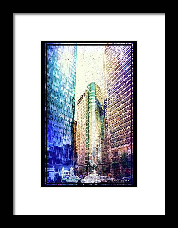Marvin Saptes Framed Print featuring the photograph Center Of Attention by Marvin Spates