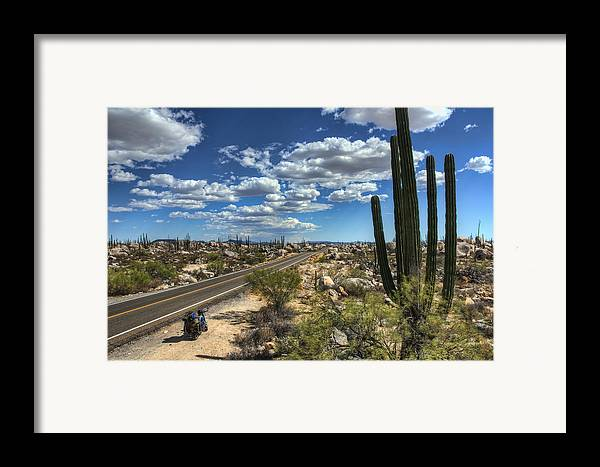 Baja Framed Print featuring the photograph Center Of The Baja by Rich Beer