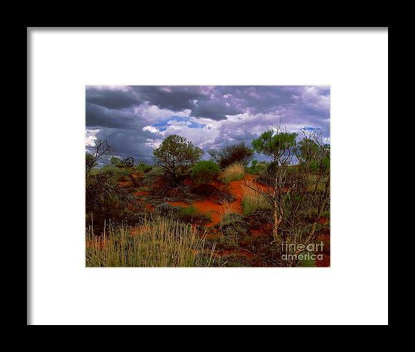 Australia Framed Print featuring the photograph Central Australia I by Louise Fahy