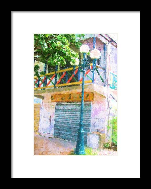 St. Martin Framed Print featuring the photograph Cest La Vie by Debbi Granruth