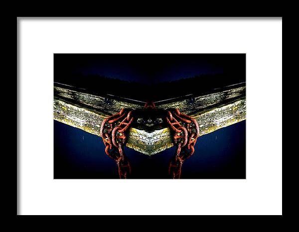 Sea Framed Print featuring the photograph Chained To The Sea by P Russell