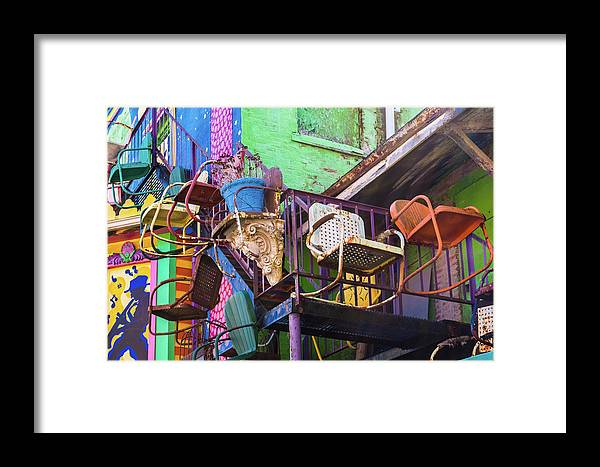 Pennsylvania Framed Print featuring the photograph Chairs by Stewart Helberg