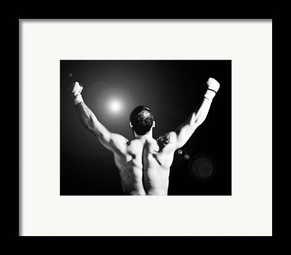 Boxer Framed Print featuring the photograph Champion by Dean Farrell