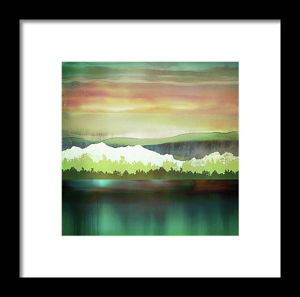 Change Framed Print featuring the digital art Change by Katherine Smit