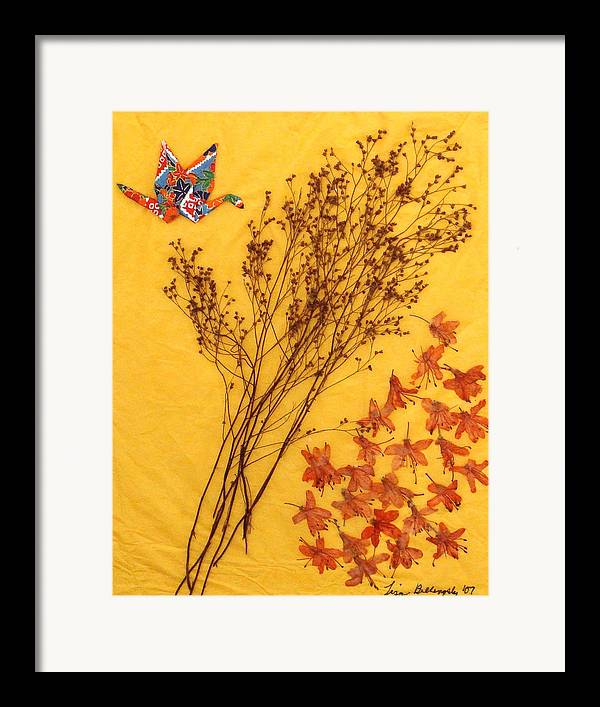 Oigami Framed Print featuring the mixed media Change by Lisabeth Billingsley