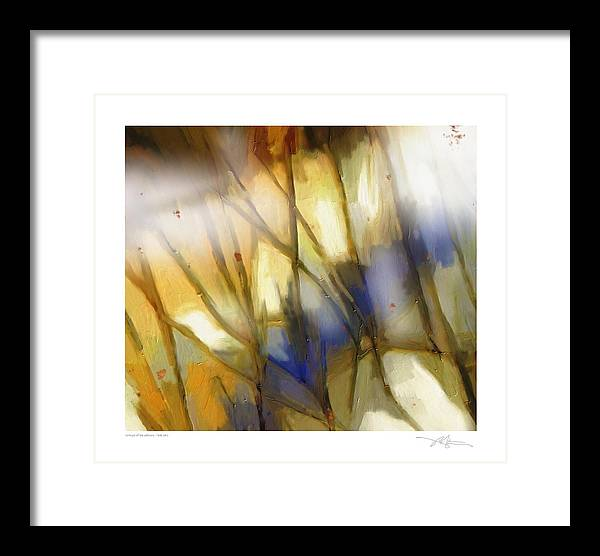 Seasons Framed Print featuring the painting Change Of The Seasons by Bob Salo