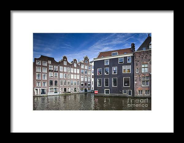 Age Framed Print featuring the photograph Channles Of Amsterdam by Andre Goncalves