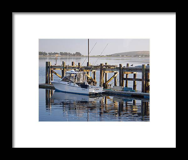 Boat Framed Print featuring the photograph Chaos near Bodega Bay by Suzanne Gaff