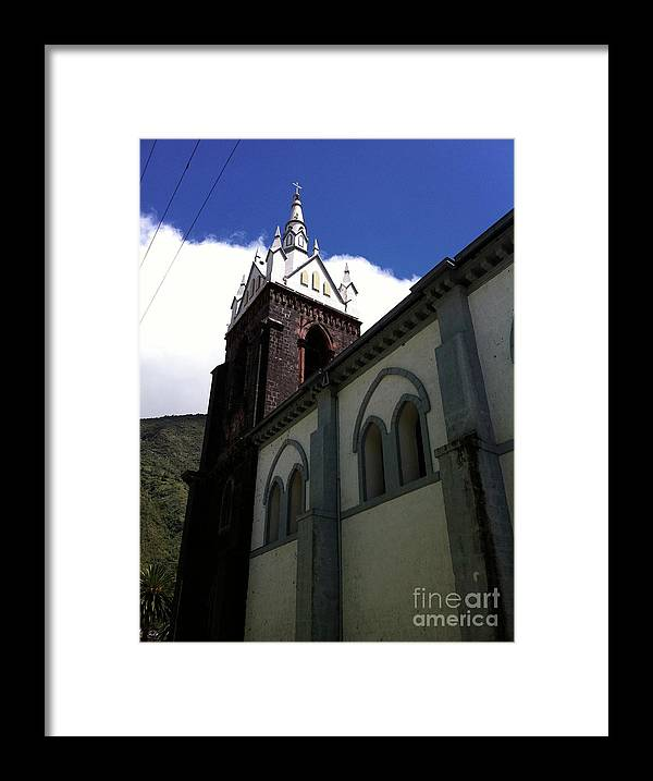 Chapel Framed Print featuring the photograph Chapel In The Square by Alisha Robertson