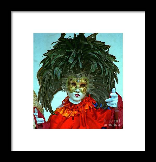Venice Framed Print featuring the photograph Character In Venice by Michael Henderson