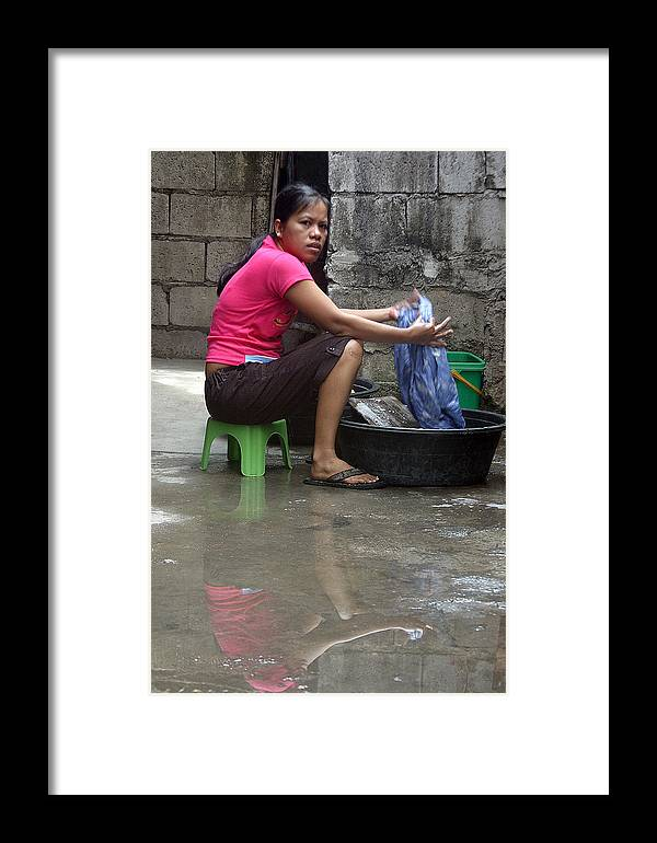 Photographer Framed Print featuring the photograph Charito 2 by Jez C Self
