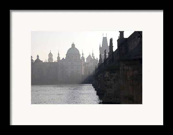Bridge Framed Print featuring the photograph Charles Bridge At Early Morning by Michal Boubin
