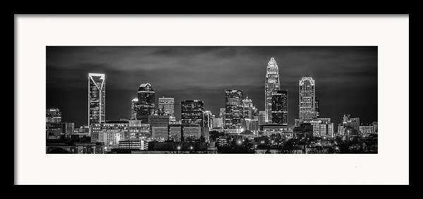 Charlotte Framed Print featuring the photograph Charlotte Greyscale by Brian Young