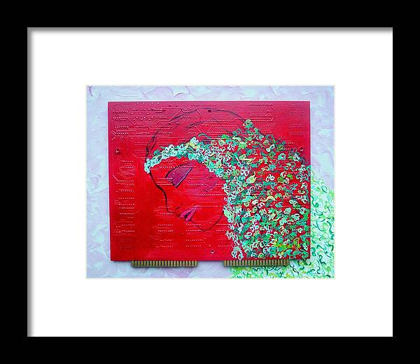 Mystical Framed Print featuring the painting Charmed by Cary Singewald