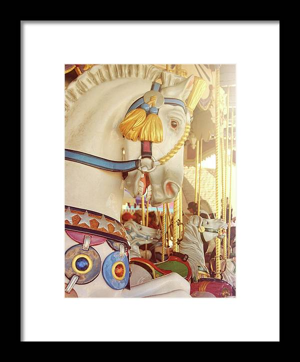 Horse Framed Print featuring the photograph Charming Chariot by JAMART Photography