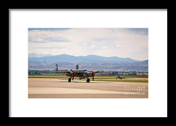 Chase Plane Framed Print featuring the photograph Chase Plane by Jon Burch Photography