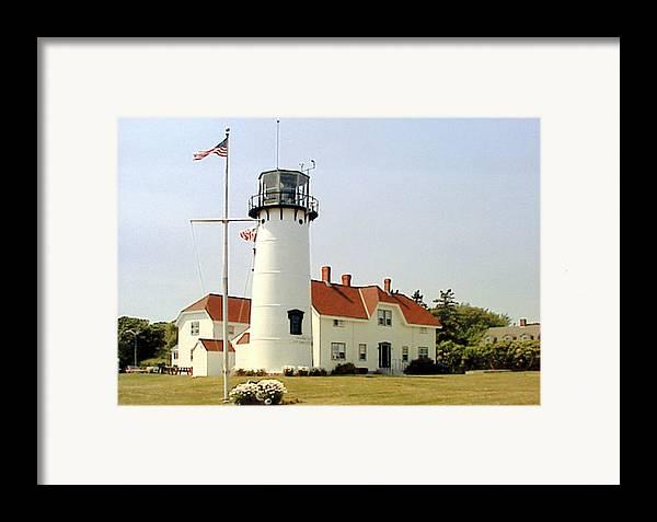 Chatham Lighthouse Photograph Framed Print featuring the photograph Chatham Lighthouse by Frederic Kohli