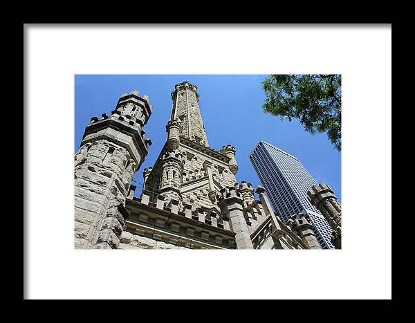Chicago Framed Print featuring the photograph Checkmate by Tyquill Williams