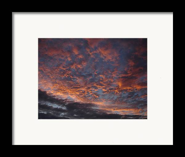 Landscape Framed Print featuring the photograph Chemical Sky by Chad Natti