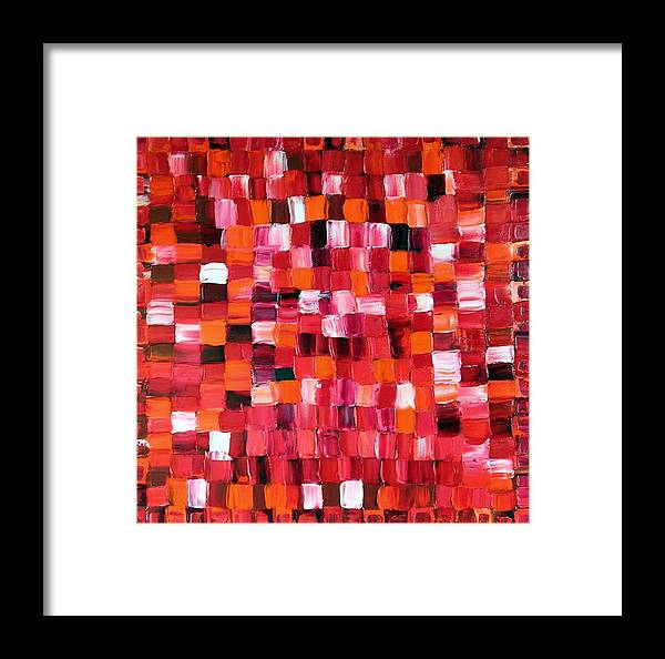 Art Framed Print featuring the painting Cherry Pie by Dawn Hough Sebaugh