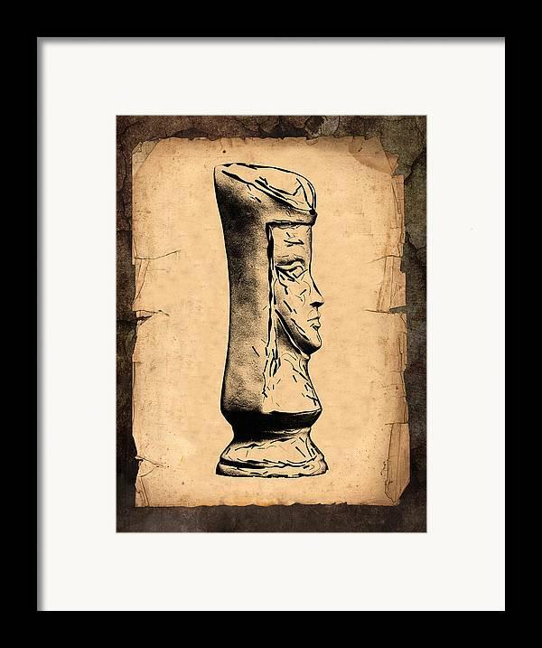 Queen Framed Print featuring the photograph Chess Queen by Tom Mc Nemar